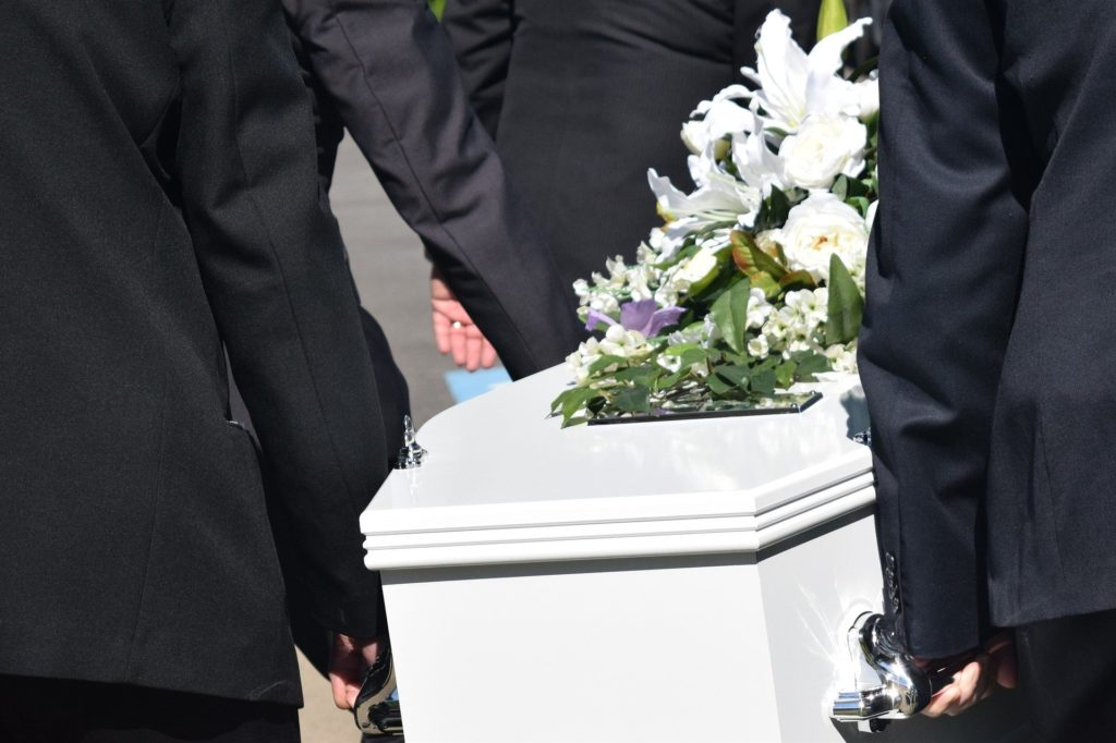 Free Funeral Benefits - Coffin Flowers